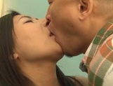 Dirty Japanese wife cheats her hubby with his best friend picture 31