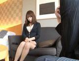 Beautiful Asian secretary is sexy picture 12