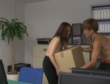 Hot office sex with a staggering beauty Yurie Matsushima