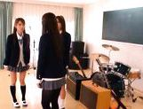 Juicy Asian schoolgirls have lesbian fun