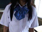 Aya Seto Lovely Asian schoolgirl