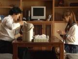 Voyeur Cam Captures Chika Eiro Having Sex In Her Schoolgirl Outfit picture 11