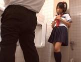 Teen Yuika Seno Masturbates While Watching A Guy Jerk Off
