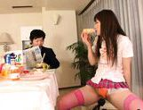School girl receives masturbation while having breakfast with her picture 15
