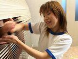 Schoolgirl Aya Natsuki pounded by cock