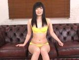 Hina Maeda Squirts From Her Shaved Teen Pussy From a Vibrator picture 11
