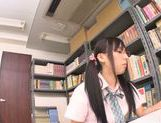 Asian schoolgirl Yuuki Itano gets deep penetrated picture 4