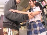 Asian schoolgirl Yuuki Itano gets deep penetrated picture 8