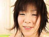 Hot Kasumi Uehara fingers her wet pussy
