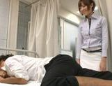 Hikaru Shiina gives student lessons in pussy licking and fucking