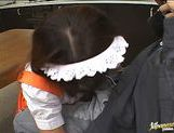 Maid Takes A Break To Suck Her Boss And Eat His Cum picture 14