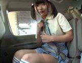 Car sex with hot AV model Miyu Nakatani picture 13