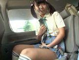 Car sex with hot AV model Miyu Nakatani picture 14