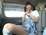 Car sex with hot AV model Miyu Nakatani