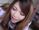 Hot Teen Rei Minami Has CFNM Sex With A Creamed Pussy