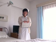 Petite amateur babe Mashiro Ayase deepthroats cock on pov video