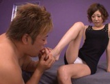 Tight Teen Makato Yuuki Makes Him Shoot A Hard Load In Her Face picture 2