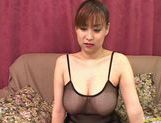 Hottie Monami Sakura masturbates alone before getting fucked really hard.