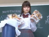 Tons Of Cum Is What Megumi Shino And Her Glasses Receive