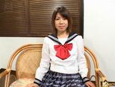 Hot Teen Ai Kazumi Masturbates And Sucks A Cock For Cum