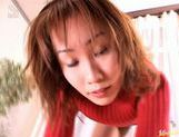 Yuki Yoshida's On Her Knees To Give A POV Blowjob picture 9