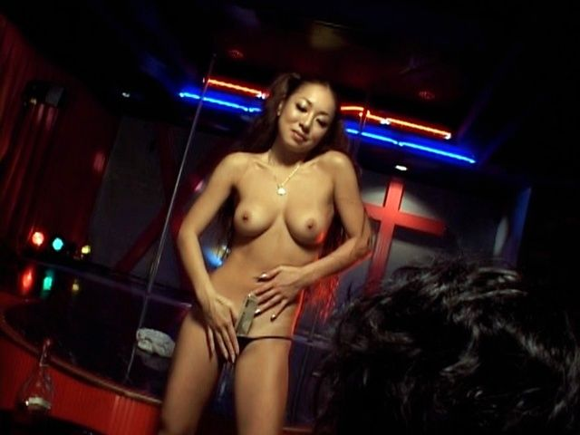 Erena Fujimori strips like a and makes an awesome blowjob.