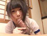 Agasa Itou naughty Asian teen enjoys her warm cum