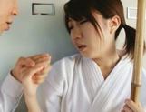 Teen Chika Sena Gets Fucked In The Locker Room In Her Kimono picture 12