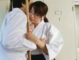 Teen Chika Sena Gets Fucked In The Locker Room In Her Kimono picture 15