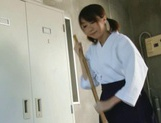 Teen Chika Sena Gets Fucked In The Locker Room In Her Kimono picture 5