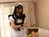Hot Maid Tsubomi Fucks Him Well With Her Uniform On