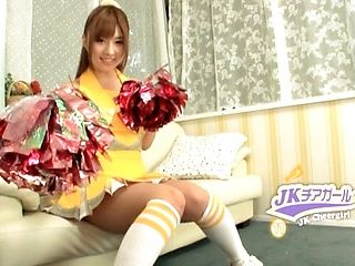 Kokomi Naruse naughty Asian teen is hot cheerleader
