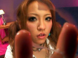 Japanese costume roleplay starring the beautiful China Nishino