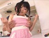 Naughty Asian wife Ai Hoshimiya loves it hardcore