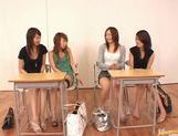 Japanese babes in crazy sex game picture 14