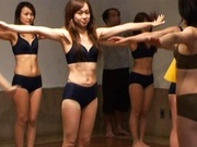 Japanese Hotties In Skimpy Clothes Are Working Out