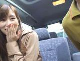 Teen Chika Eiro Fucked With Sex Toys In A Moving Car picture 5