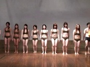 Japanese Women Work Out In Shorts And Sports Bras