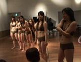 Japanese Babes Strip Naked To Play Ball Games Nude