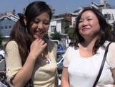 Japanese AV Model is a mature lady into hot sex with her friend