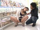 Ayane Asakura Asian MILF has public sex picture 13