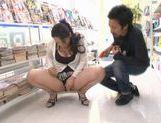 Ayane Asakura Asian MILF has public sex picture 14