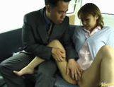 Jyuri Hashimoto Asian babe has car sex