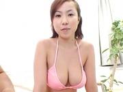 Yui Kazuki has the best boobs ever and fucks for pleasure.