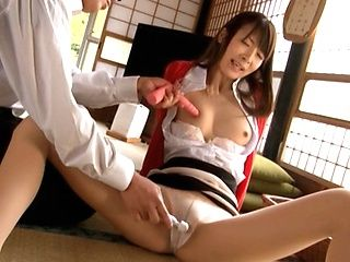 Hot Asian milf is horny housewife with sex toys