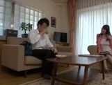 Lustful Japanese mature chick in amazing sexy action picture 13