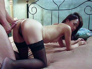 Jun Nada Asian model is kinky