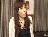 Hot mature Japanese woman squirts pussy juice and rides cock