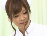 Nurses Erika Kashiwagi And Her Friend Creampied By A Patient picture 13