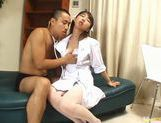 Kinkiest Japanese nurse fucking picture 8
